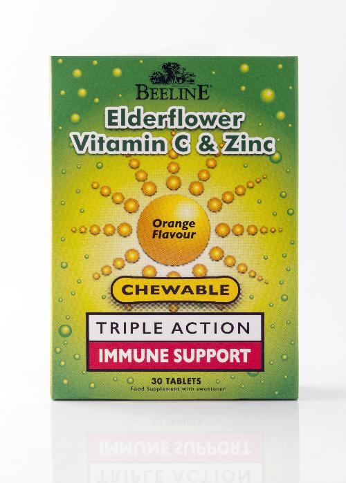 Beeline elderflower chewable tablets