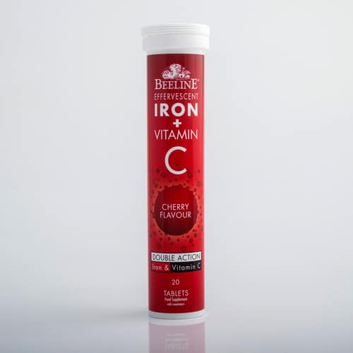 Iron & Vitamin C Effervescent Tablets