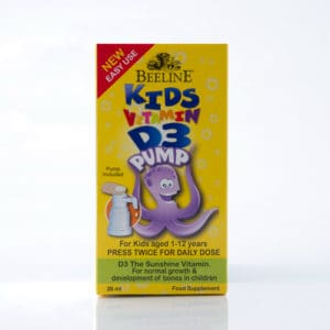Kids Vitamin D3 Pump