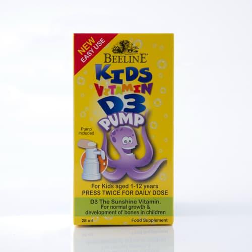 Kids Vitamin D3 Pump