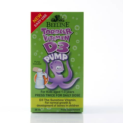 Toddler Vitamin D3 Pump