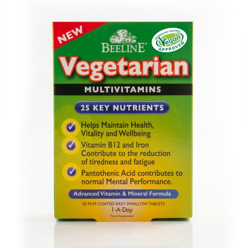 Vegetarian Multivitamins Tablets