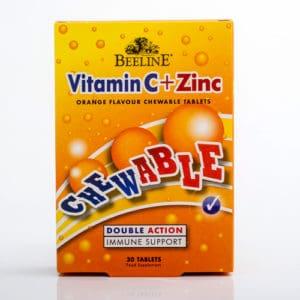 Vitamin C + Zinc Chewable Tablets