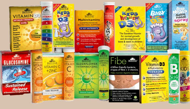 Beeline vitamins